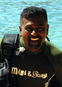 Dive Instructor Rohana Kithsiri